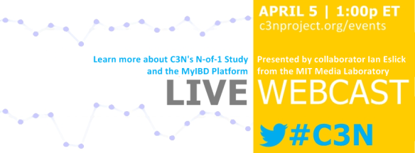 C3N quarterly webcast featuring Ian Eslick and the N of 1 study