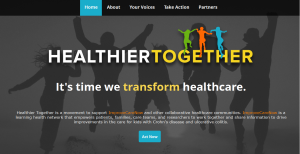 Healthier Together is a movement to support ImproveCareNow and other collaborative health care networks.