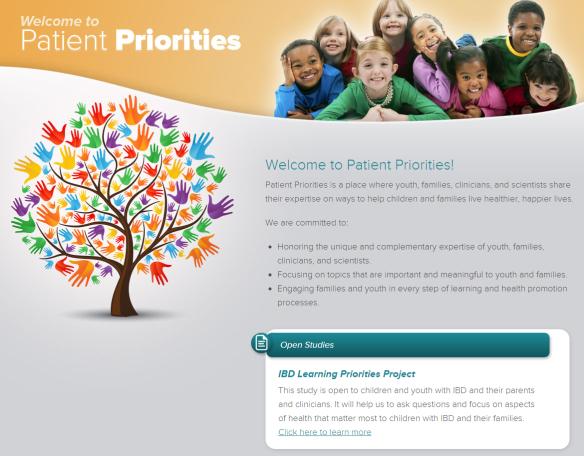 Patient Priorities IBD Learning Priorities Project