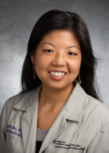 Michele Cho, MD is a pediatric gastroenterology and research studying racial disaprities in pediatric IBD care using the ImproveCareNow registry.