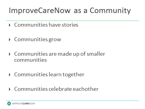 ICN as a Community