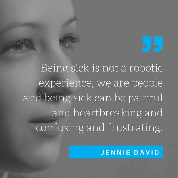 Jennie David Quote